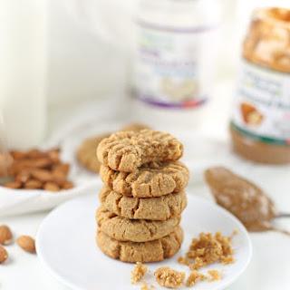 Gluten-Free Coconut Almond Butter Cookies {Low Sugar}.
