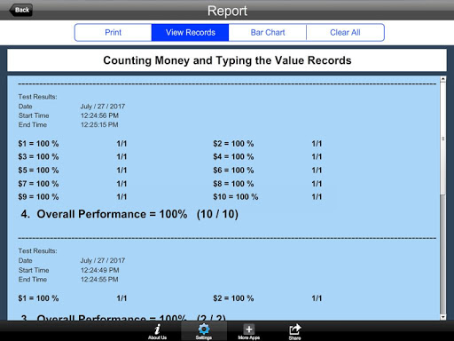 Canadian Counting Money and Typing the Value Lite 1.1 screenshots 6