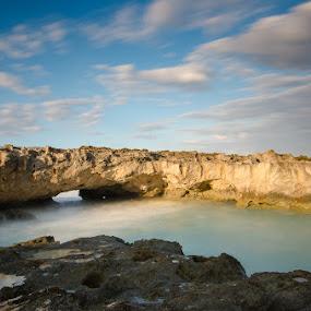 pomenne bay by Fanie Weldhagen - Landscapes Waterscapes