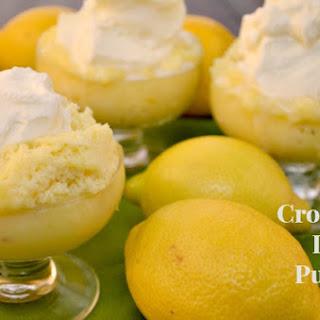 Crock-Pot Lemon Pudding Cake