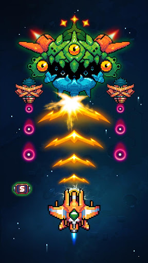 Galaxiga - Classic 80s Arcade apkmr screenshots 11
