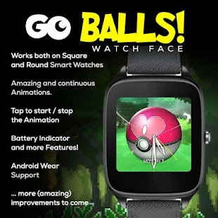 Go Balls Watch Face Animated!- screenshot thumbnail