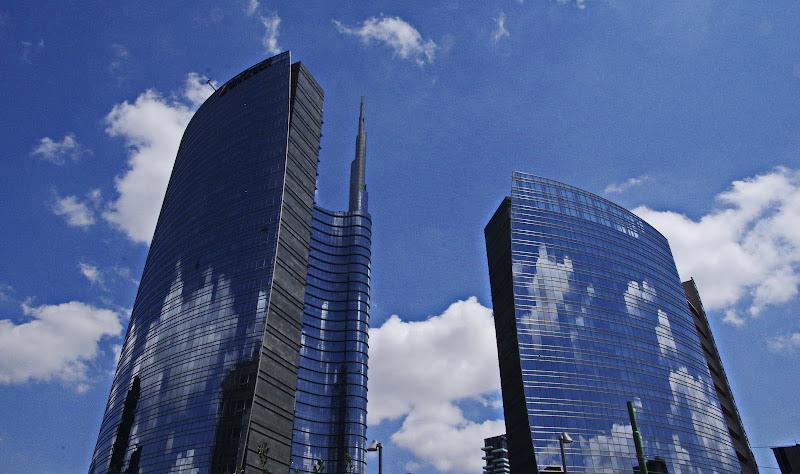 Nuvole vere e nuvole riflesse di jovi55