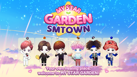 MY STAR GARDEN with SMTOWN APK screenshot thumbnail 1