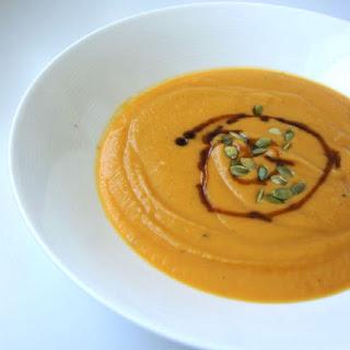 Sweet 'n Spicy Sweet Potato Soup.