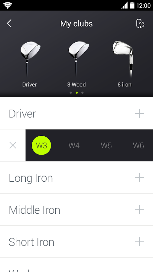 ti.ttle : Golf Swing Analyzer- screenshot