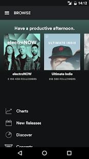 Spotify Music - náhled