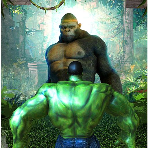 Incredible Monster Hero vs Angry Kong Gorilla