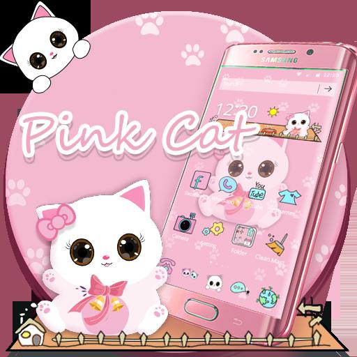 Pink Kitty Cartoon Theme