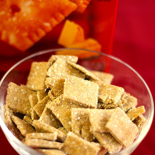 Healthy Cheezy Crackers