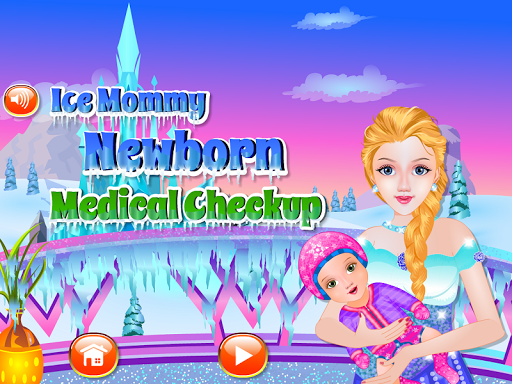 Newborn check up baby games