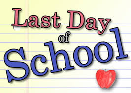 Image result for free clip art last day of school
