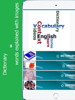 Screenshot of Learn English in context