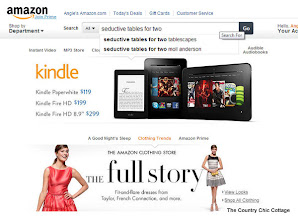 Photo: Amazon seemed to know right what I wanted when I typed in my selection.