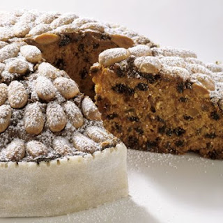 Traditional Almond and Dried Fruit Cake.