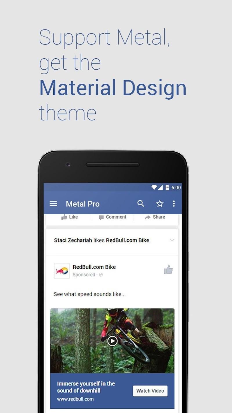 Metal Pro Screenshot 1
