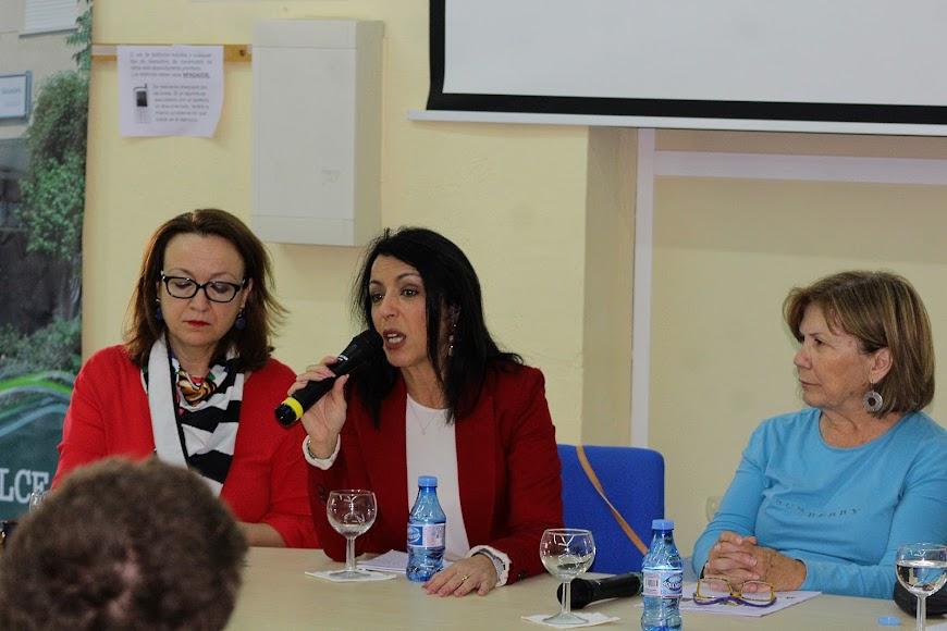 Intervención de la presidenta del Parlamento de Andalucía, Marta Bosquet.