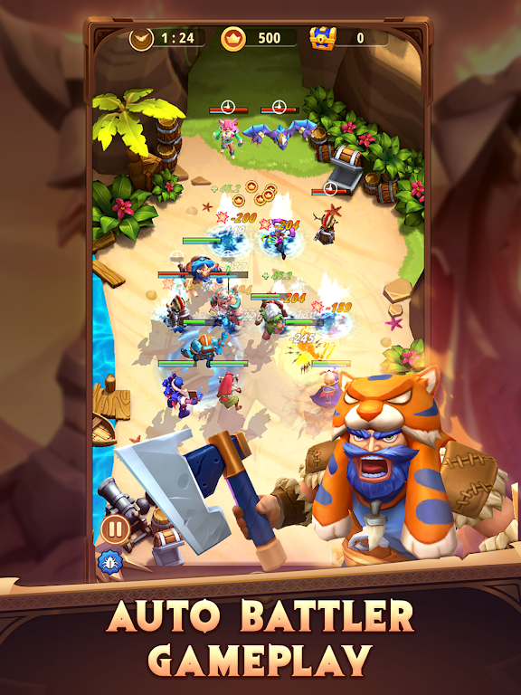 I Am Hero: AFK Tactical Teamfight  poster 6