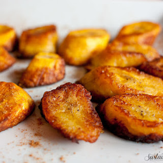 Coconut Oil Fried Plantains (Maduros)