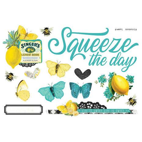 Simple Stories Simple Page Pieces - SV Lemon Twist