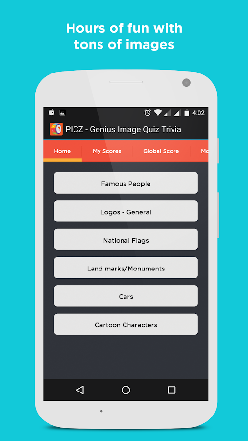 PICZ-Genius Image Quiz Trivia- screenshot