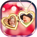 Locket Photo Frame icon