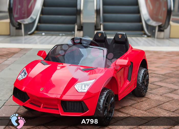 Xe ô tô điện trẻ em Lamborghini A798 5