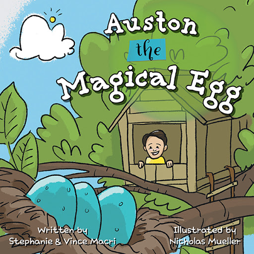 Auston the Magical Egg cover