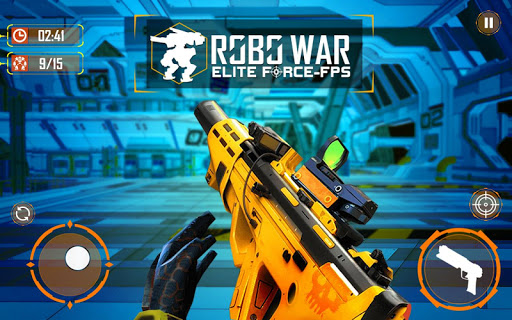 Real Robots War Gun Shoot: Fight Games 2019 1.1.3 screenshots 14