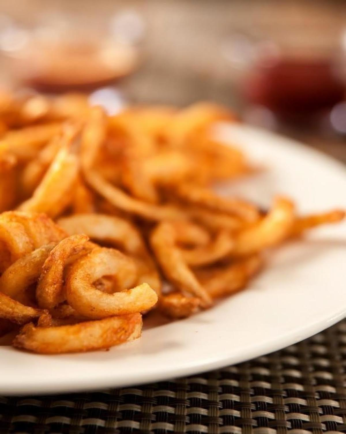 Spicy Curly Fries Just A Pinch Recipes