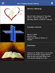 Zion Prospect Baptist Church for PC-Windows 7,8,10 and Mac apk screenshot 7