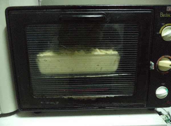 Because we don't have a regular oven for baking, I use a toaster oven....