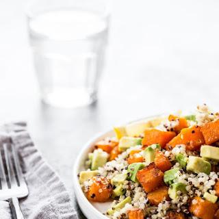 A Simple Roasted Butternut Squash Salad