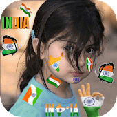 Indian Flag Face Maker