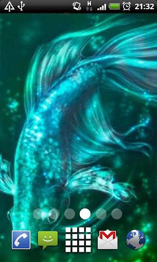 Animated Koi Fish LWP