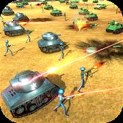 Stickman Warriors World War 2 Battle Simulator