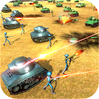 Battle Simulator World War 2 - Stickman Warriors icon