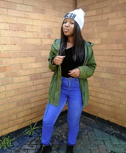Jabulile Nhlapo, the 21-year-old Unisa student who was shot and killed allegedly by her ex-boyfriend in her Vanderbjilpark commune last week.