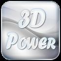 3D magic power icon