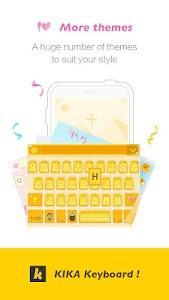 Kika Keyboard - Emoji Keyboard v3.8.5