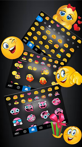 Keyboard - Jet Black New Phone10 keyboard 1.0 Screenshots 4