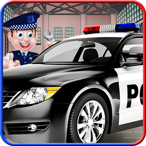 Police Car Repair Mechanic