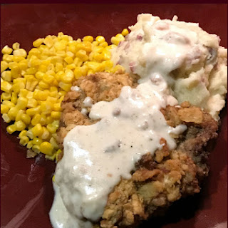 Southern Chicken-Fried Steak with Milk Gravy