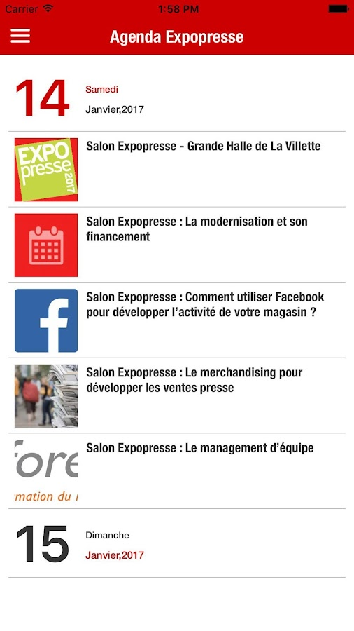 impressions : Culture Presse et Audiens- screenshot