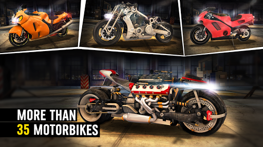 MotorBike: Traffic & Drag Racing I New Race Game apkpoly screenshots 3