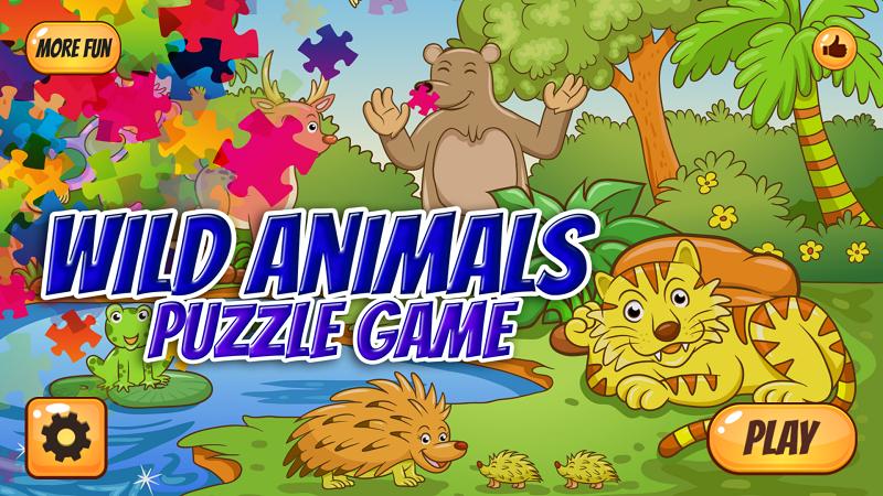Скриншот Пазл дикие животные