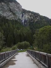 Photo: Waterval de Jungfernsprung, met een verval van 130 meter.