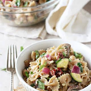 Mediterranean Farfalle Pasta {Salad}.