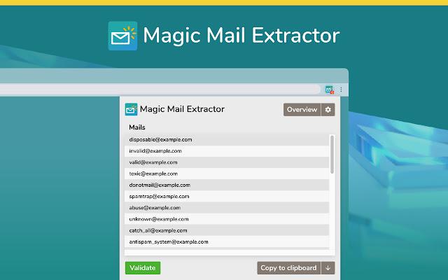 Magic Mail Extractor & Validator