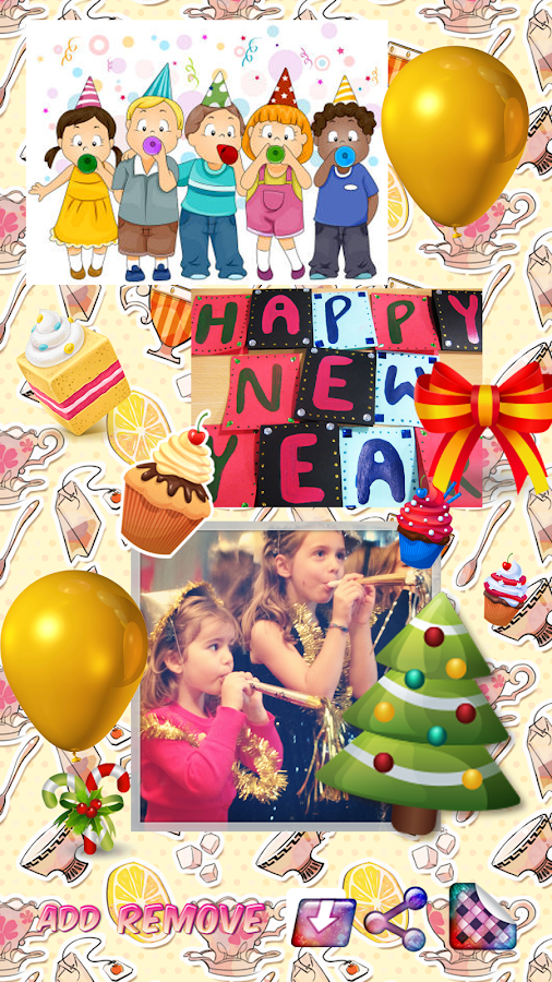 New Year Greeting Cards- screenshot
